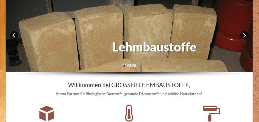 Screenshot Grosser Lehmbaustoffe